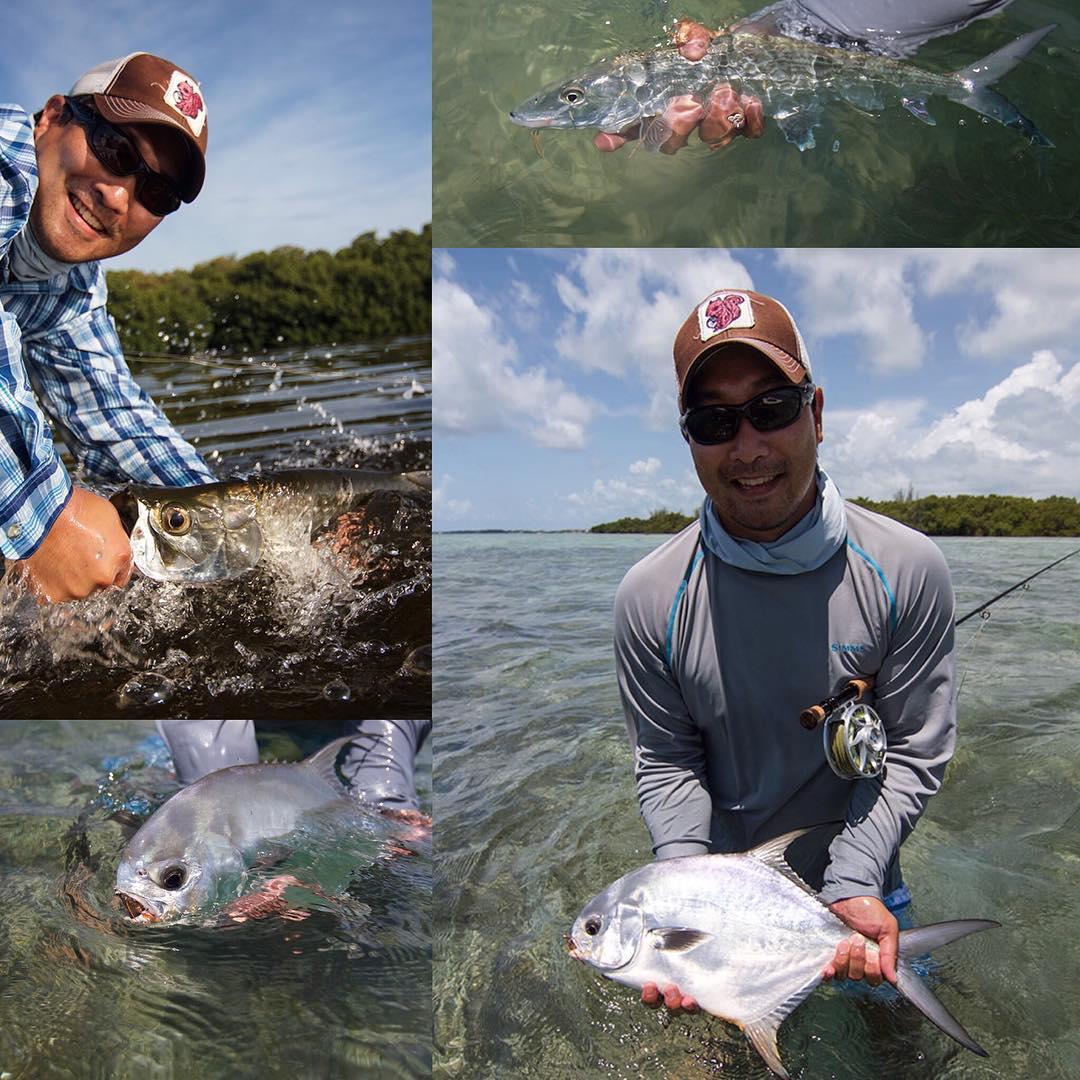 Had a fun couple of days fly fishing with @blkreider1. Congrats man!! #rustyflycharters #hawkscay #clutchflyrods #hatchoutdoors