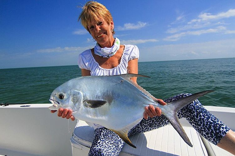 Momma got her first permit today!  Awesome job!  #rustyflycharters #noworneverglades