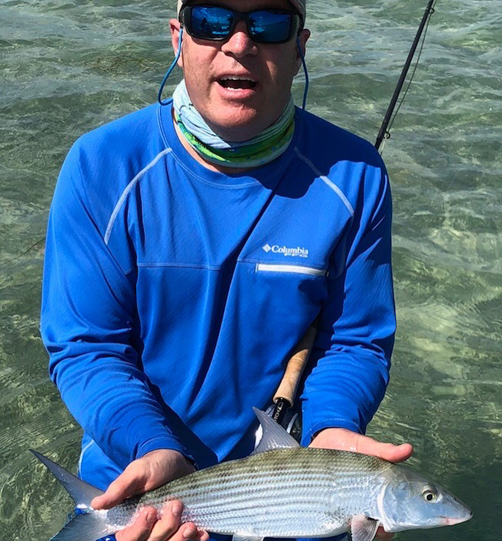 Fun couple of days with @gasparianmike and his son, Rich. #rustyflycharters #seewhatsoutthere #clutchflyrods #hatchoutdoors #skinnywaterculture